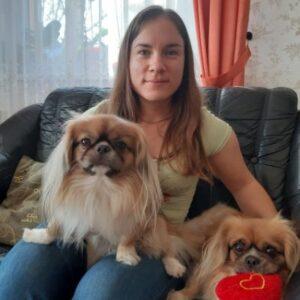Czinege Orsolya és családja